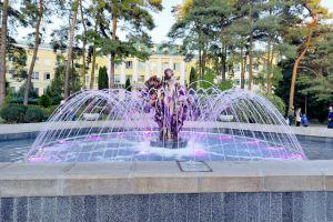 Черкащина: «Софіївку» прикрасив кольоровий водограй