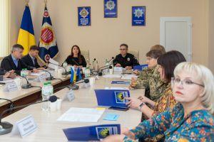 У ДонДУВС обговорили питання взаємодії між громадою, військовими та інституціями правопорядку