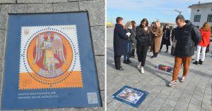 Киев: Аллея стала территорией искусства