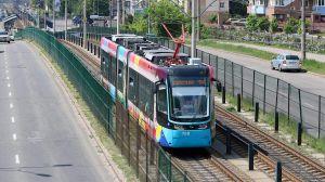 Коли відновлять зупинку швидкісного трамвая?