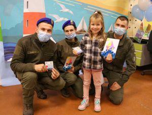 Донеччина: Гвардійці завітали до малюків з особливими потребами