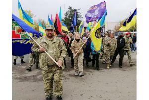 Луганщина: Автопробіг об'єднав ветеранів