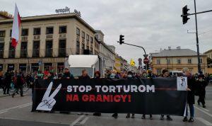 Поляки вимагають гідного ставлення до мігрантів