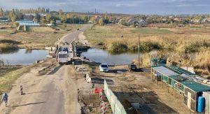 Миколаївщина: Будують міст замість понтонної переправи
