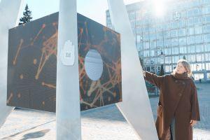 Вінниця: Мультимедійну скульптуру присвятили Криму