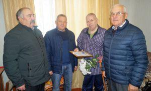Ривненщина: В Радивилове поздравили самого старого ликвидатора-чернобыльца