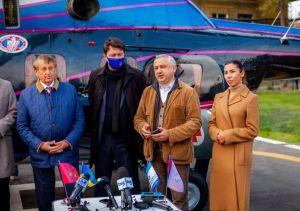 У Запорізькій лікарні з'явився санітарний вертоліт
