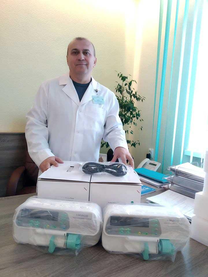 На Рівненщині набігали на... нове медичне обладнання