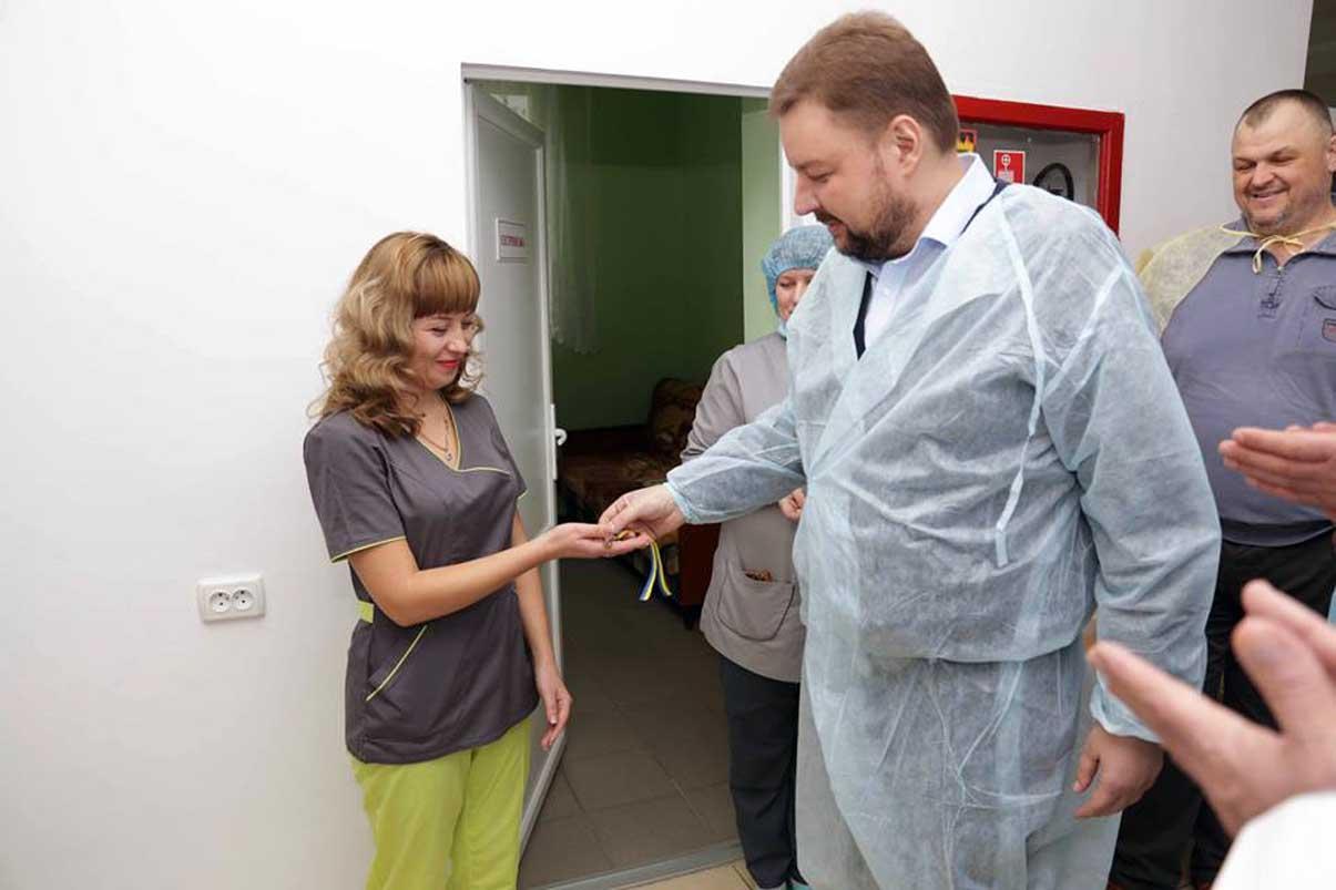 Анестезіолог отримала від держави житло