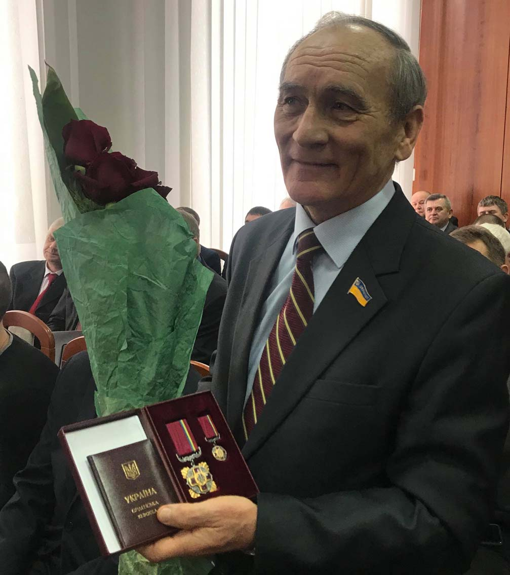 Орденом «За заслуги» II ступеня нагороджено Валентина Кроку — депутата Рівненської облради семи скликань