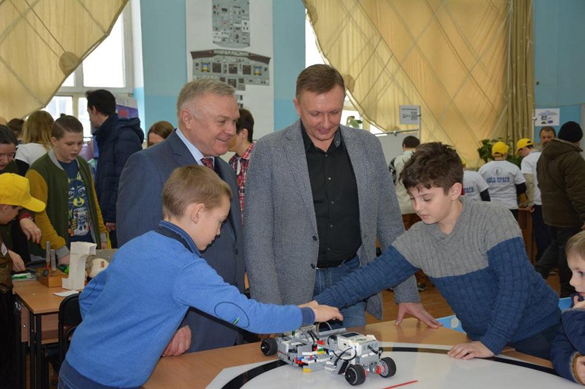 Інноваційні освітні технології допомагають розвитку дитячої інженерії