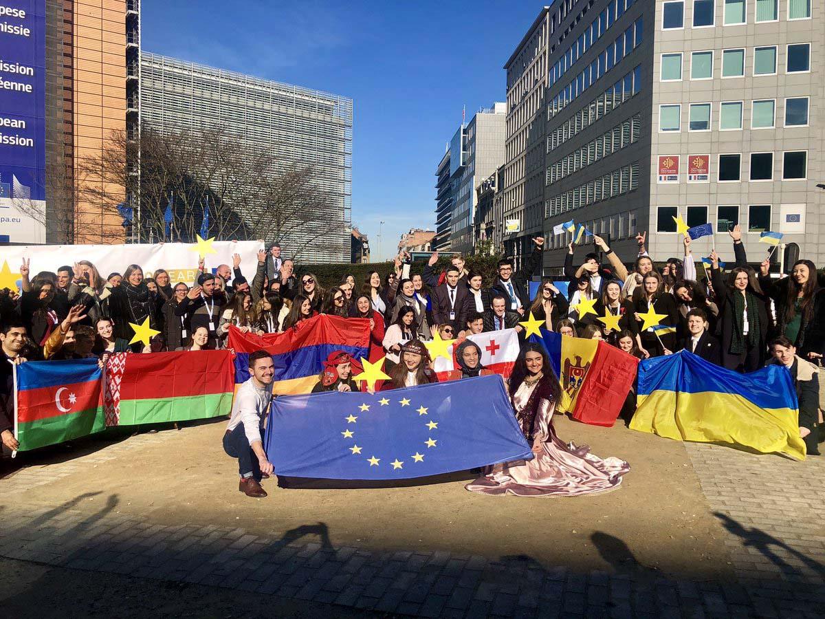 У Брюсселі відбулася зустріч з молодими послами країн «Східного партнерства»
