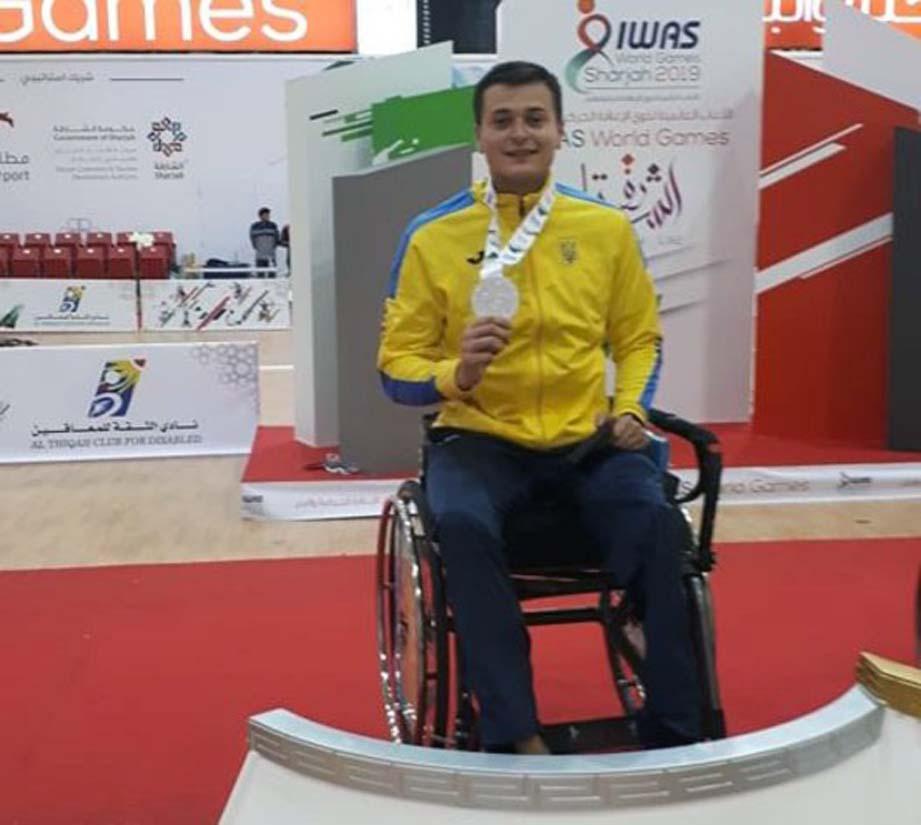 Фехтувальник на візку виборов медалі