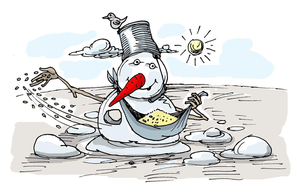 Посуха може прийти ще в лютому