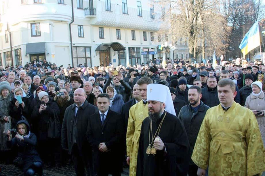 Молимося за єдність, прагнемо в любові та мирі будувати державу та церкву