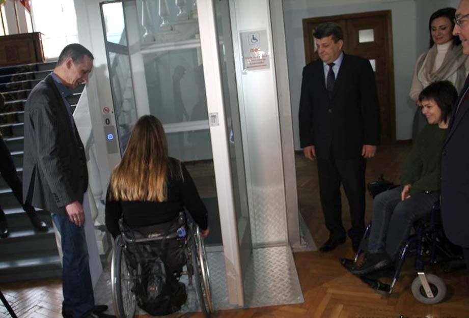 Ліфт став «підйомником» свідомості