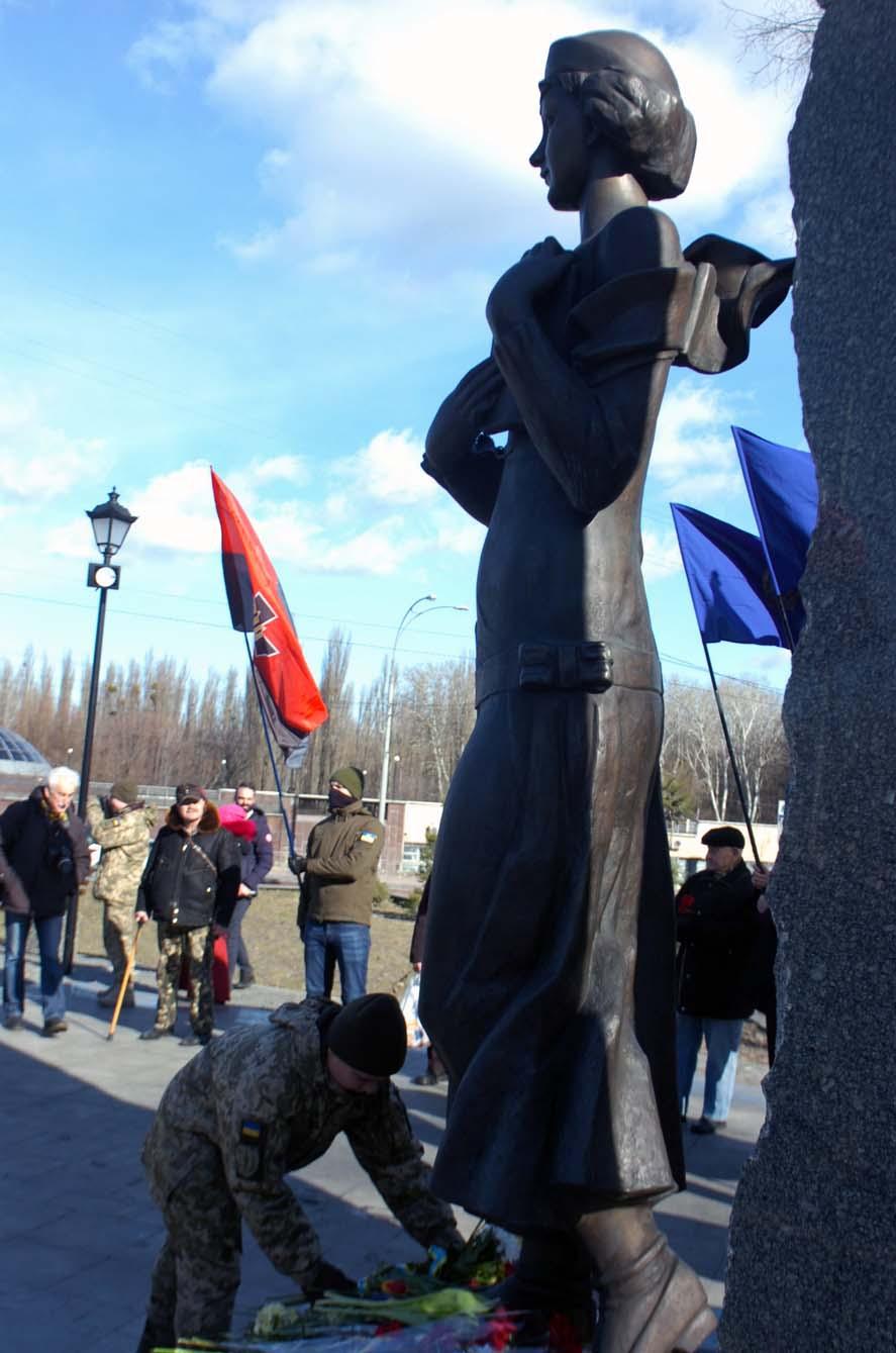 У Києві відбулося вшанування Олени Теліги