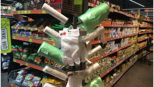 Обмежити використання  пластикових пакетів