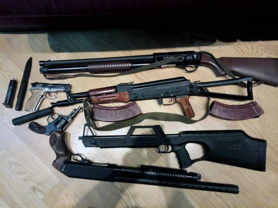 Бізнесмен і священнослужитель УПЦ МП ухилявся від податків та зберігав зброю
