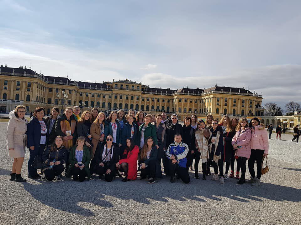Колегіантки «Знамення» побували у Відні