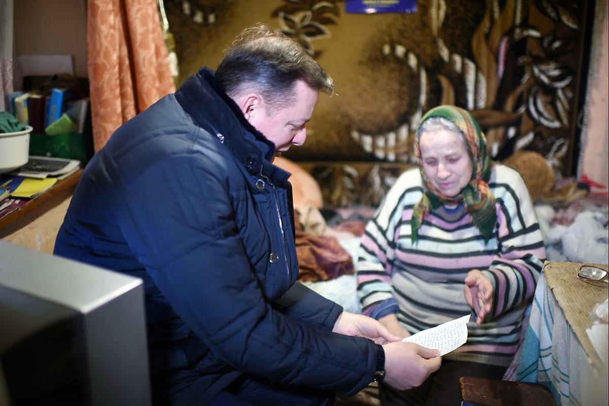 Ляшко осуществил мечту пенсионерки с Тернопольщины
