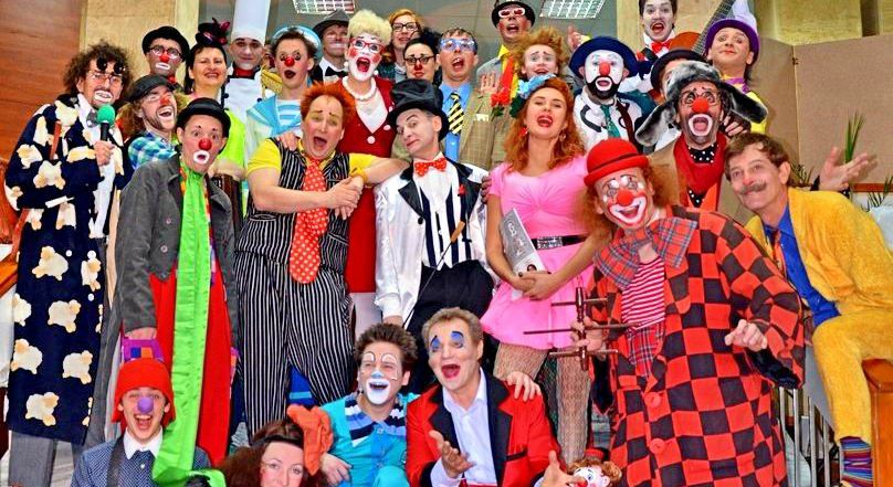 Клоуны съезжаются на «Комедиаду»