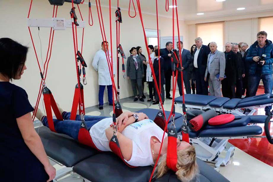 В Херcoне презентовали новый Центр реабилитации бойцов