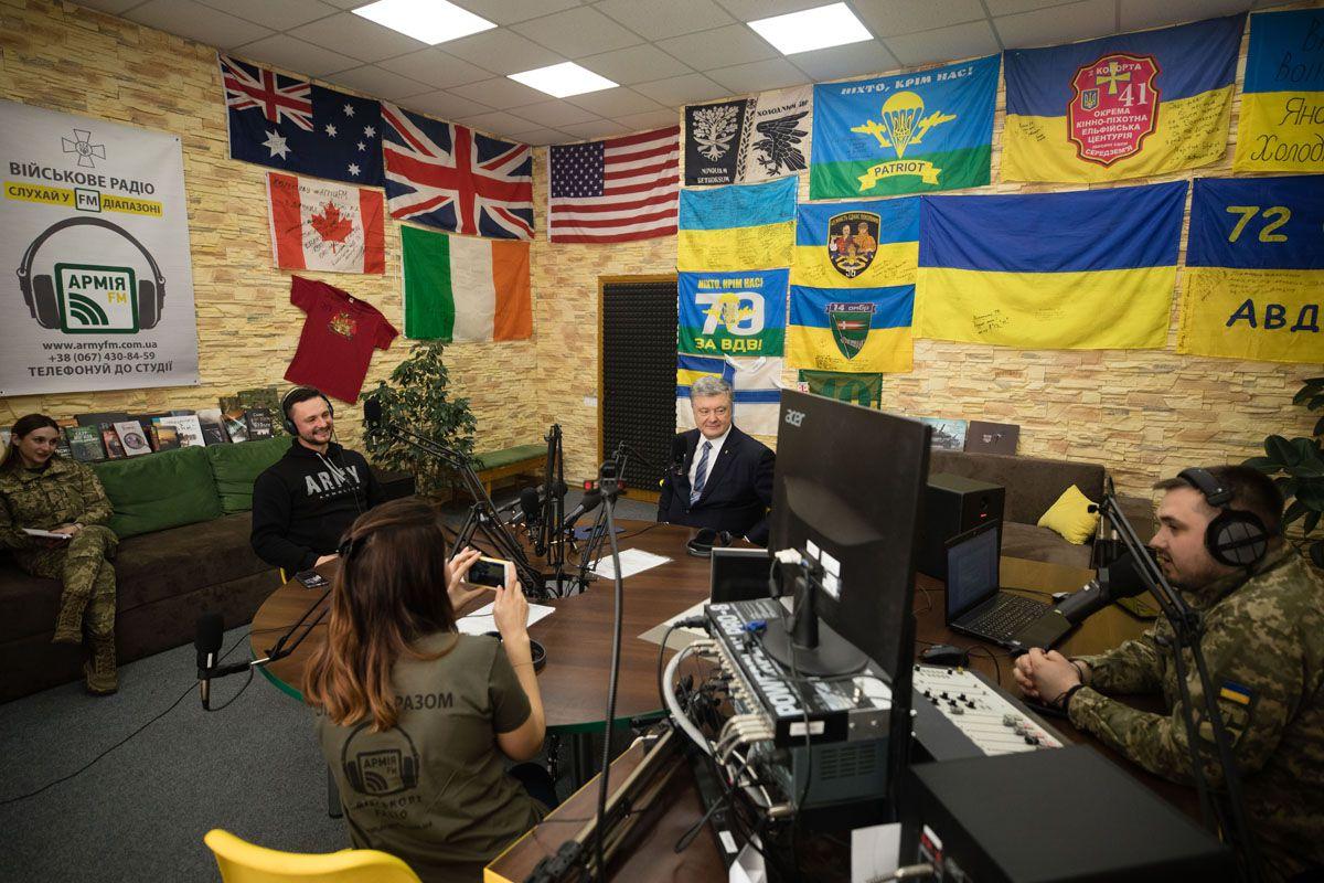 «Армию FM» слушают и на оккупированных территориях