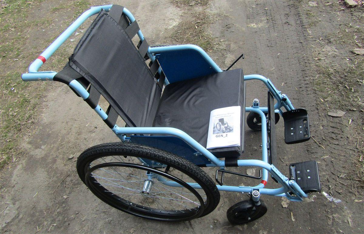 Благодійники подарували інвалідні візки