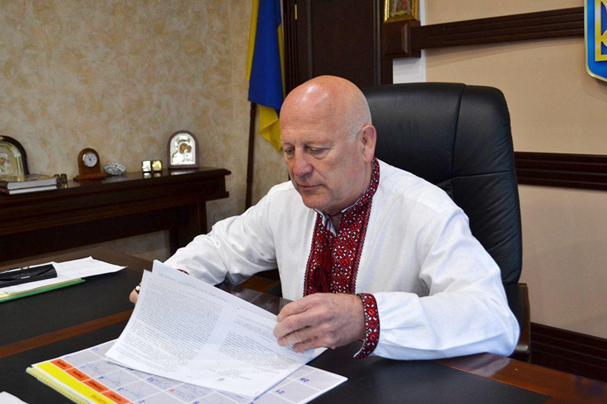 Александр Данильчук обратился в Министерство иностранных дел Украины