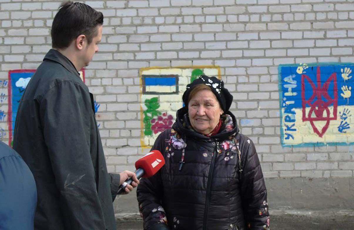 Латвійські телевізійники відзняли наслідки обстрілів
