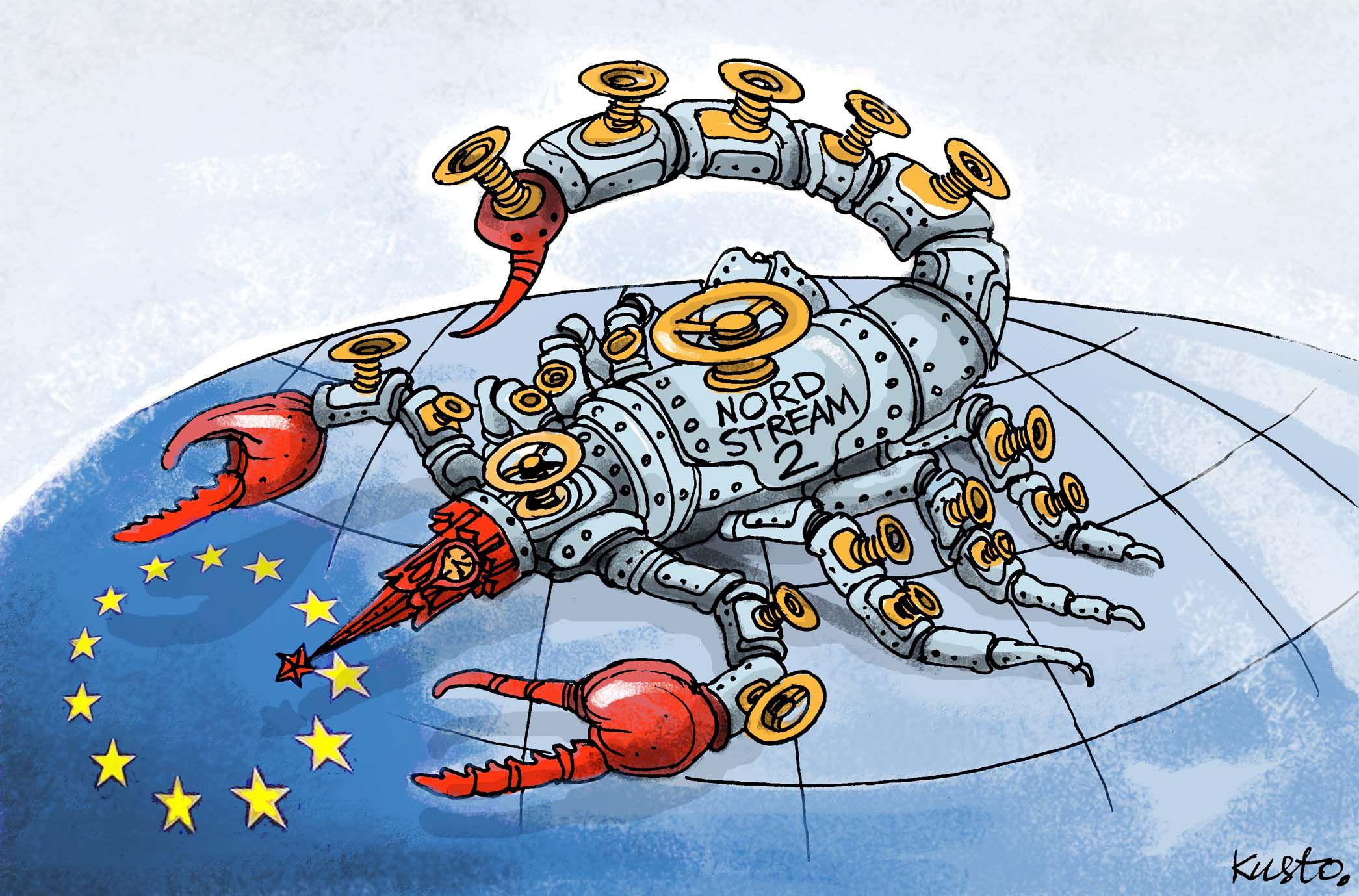 Небезпека «Північного потоку-2» у тім, що це не економічний проект, а засіб тиску Кремля