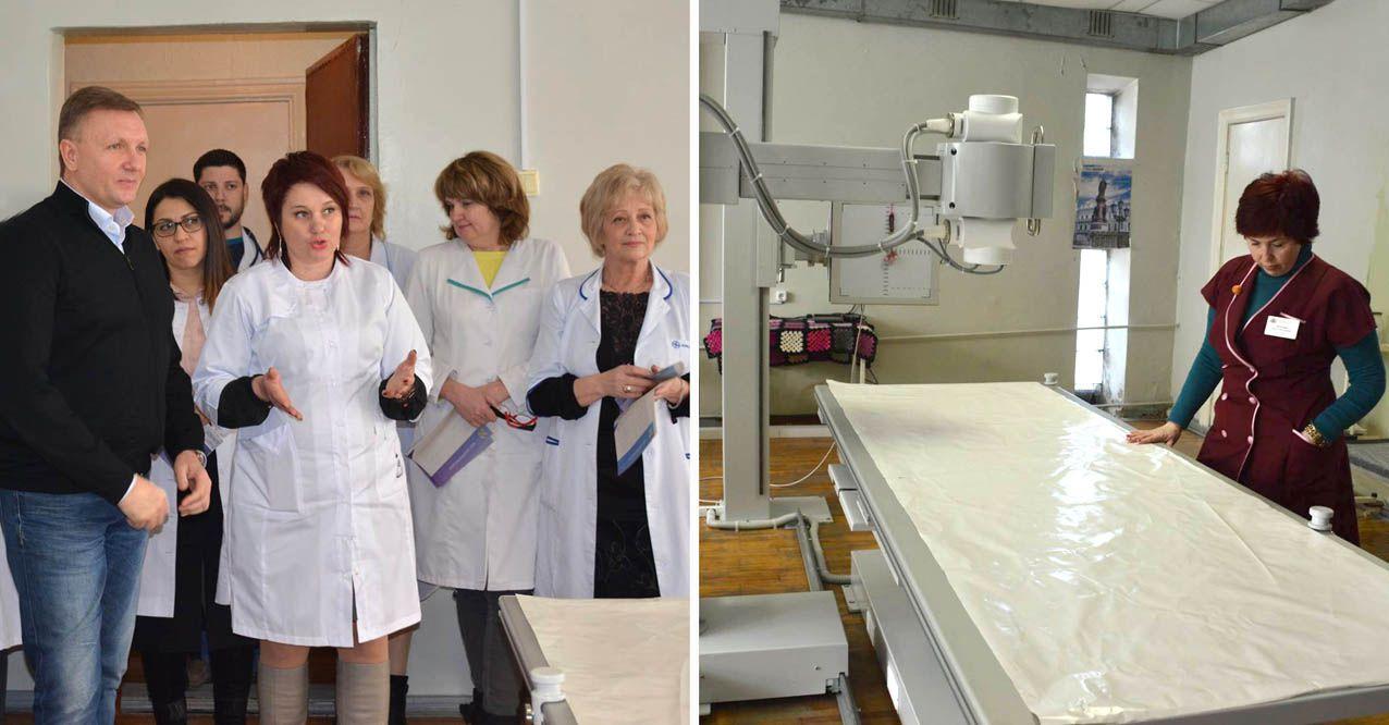 Лікарня Кропивницького поповнилася дороговартісним обладнанням