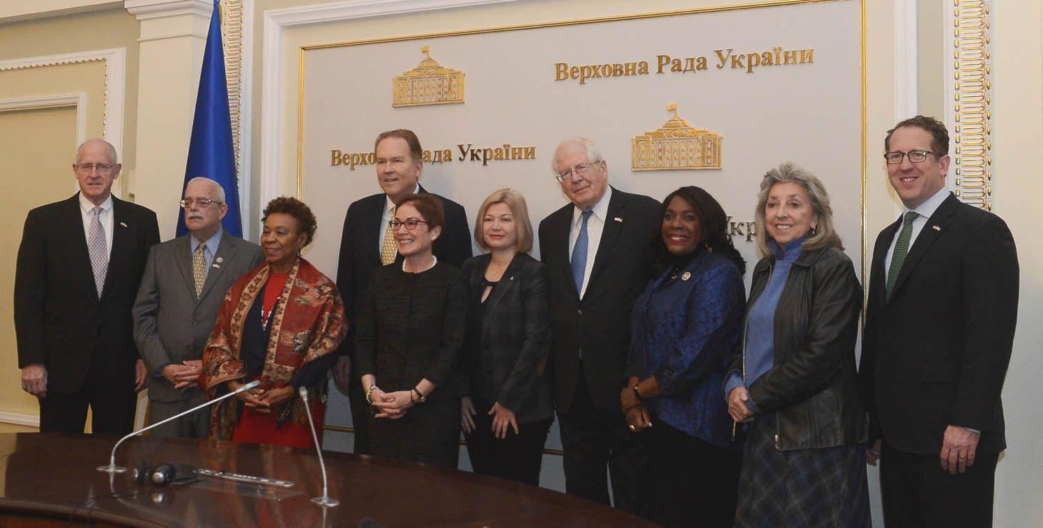 Ірина Геращенко зустрілася з делегацією Конгресу США