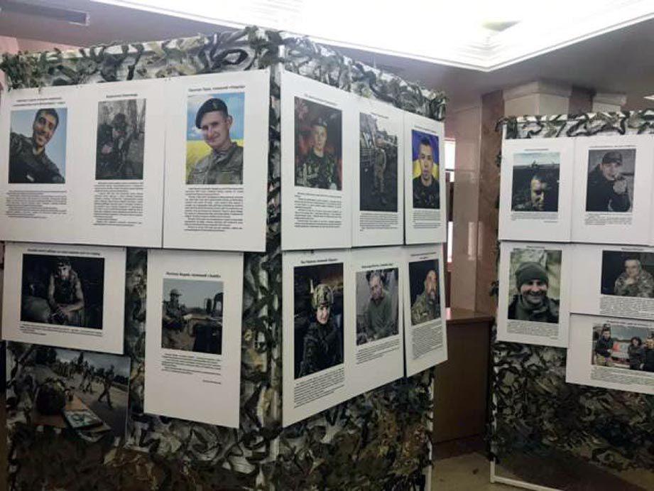 Творческие работы воинов АТО покажут в Ривном и Великобритании