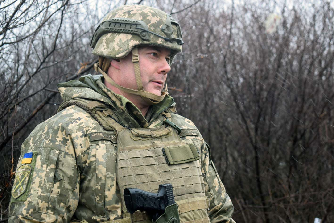 "Serhiy Nayev, ""Russian military understand well the language of Ukrainian weapon in the East"""
