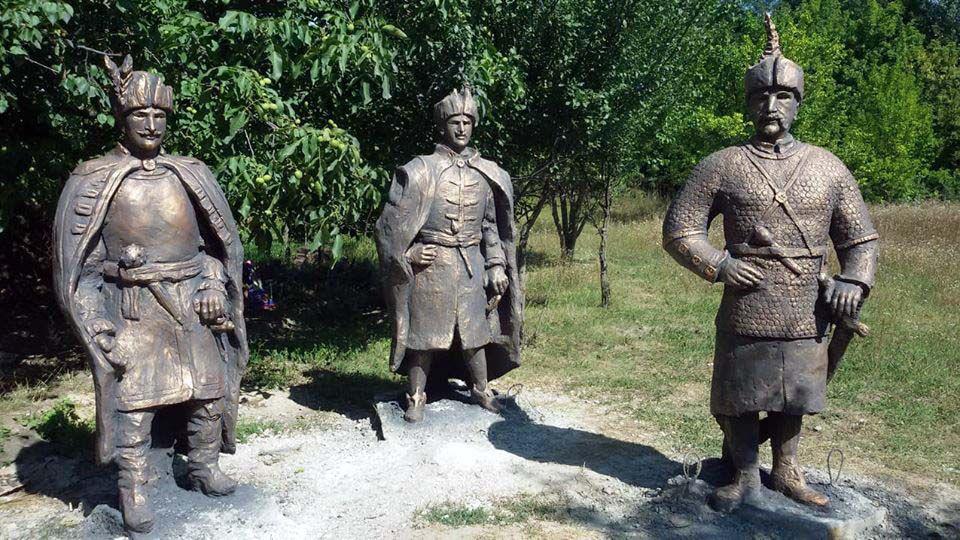 Підкову козацької слави продовжили Алеєю учасників АТО