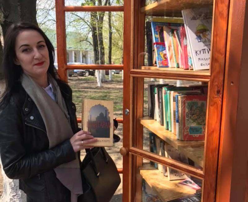 «Уличную библиотеку» создали депутаты
