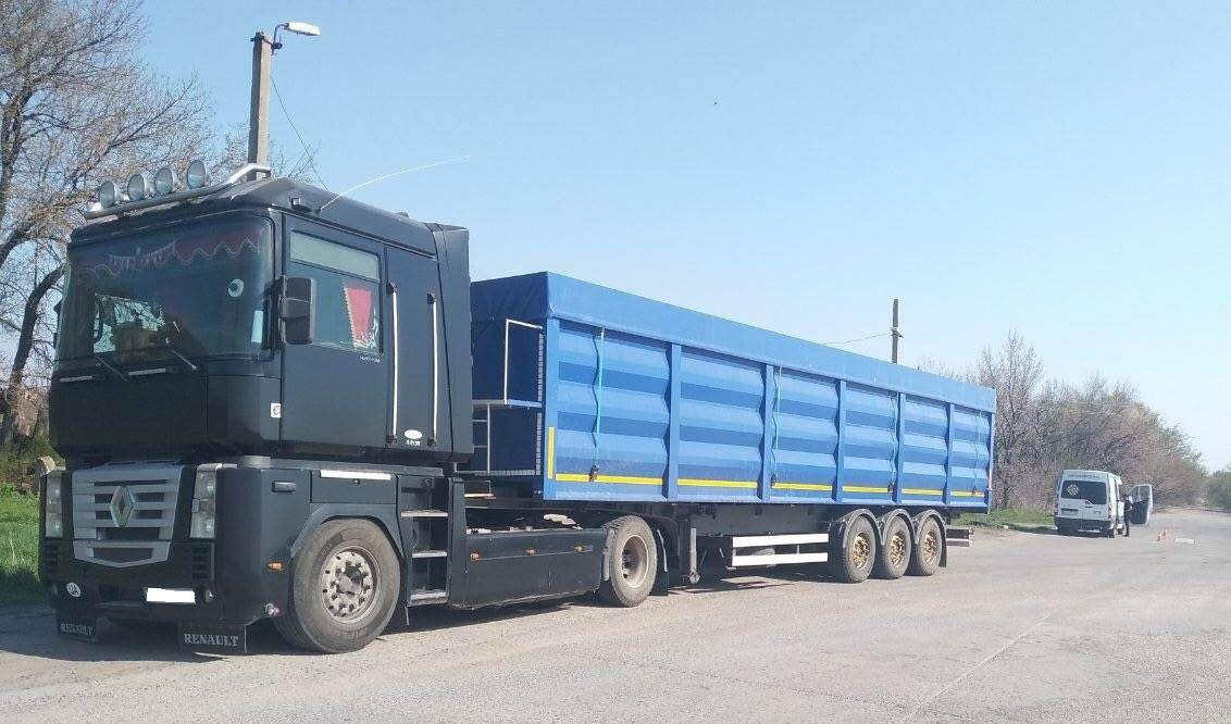 9535 євро — за проїзд вантажівки з перевищенням ваги