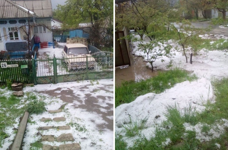 Зливи та снігопади