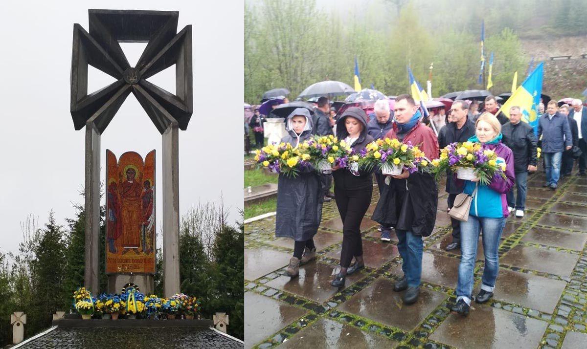 На Маковке почтили память Сечевых стрельцов