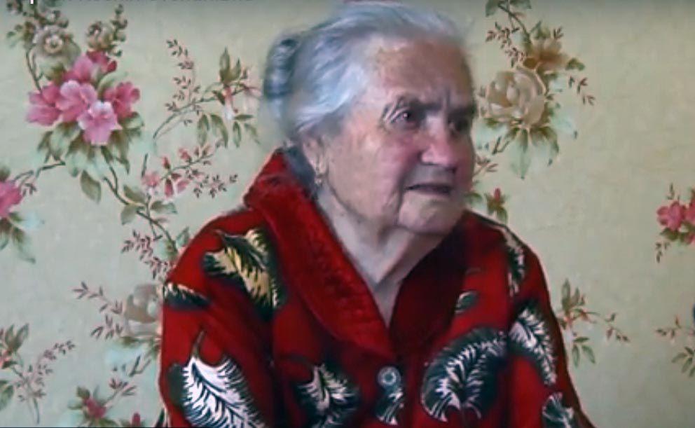 Коли фронтовичка Ксенія Степанівна говорила про мир, не могла стримати сліз