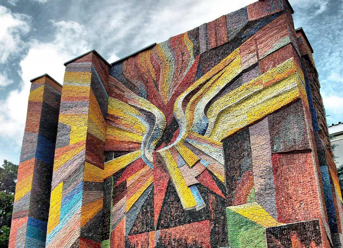 У Прилуках зруйнували унікальну мозаїку