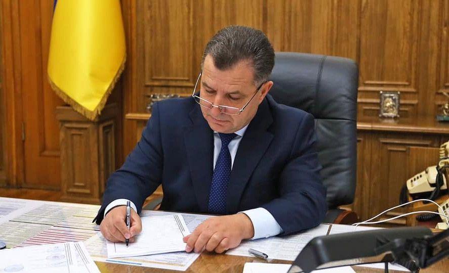 Степана Полторака нагородили званням «в. о.»
