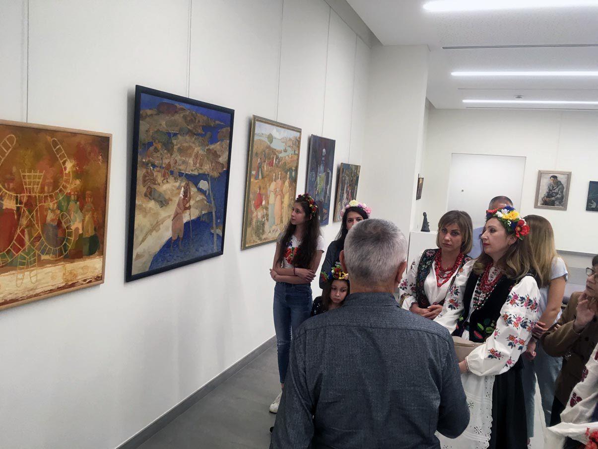 Наші витоки на художній виставці в Лівані