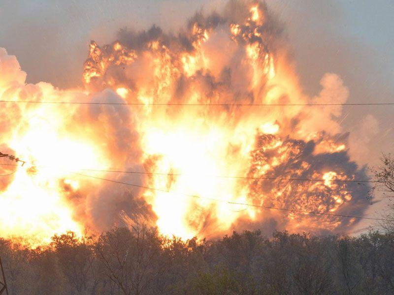 На Луганщине оккупанты наращивают количество тяжелого вооружения