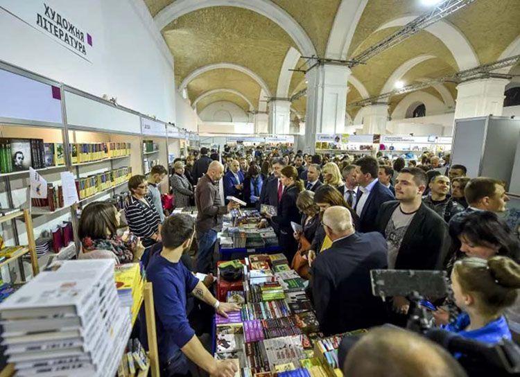На «Книжковому Арсеналі» побувало читачів більше, ніж торік