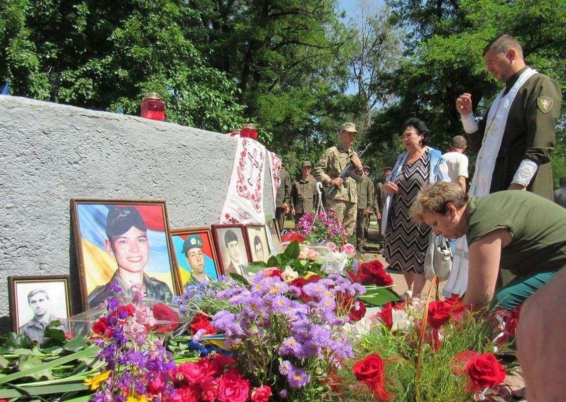 У Запоріжжі бережуть пам'ять про військових, які загинули у мирний час