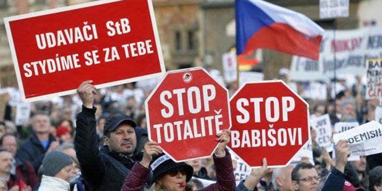 Протести в Чехії за масштабами б'ють рекорди