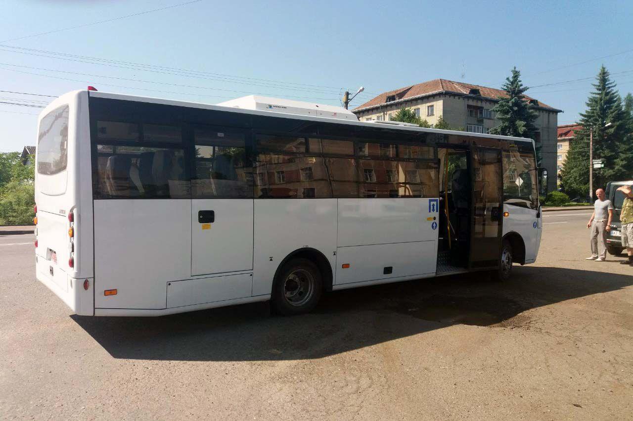 Брошнів-Осадська ОТГ придбала власний автобус